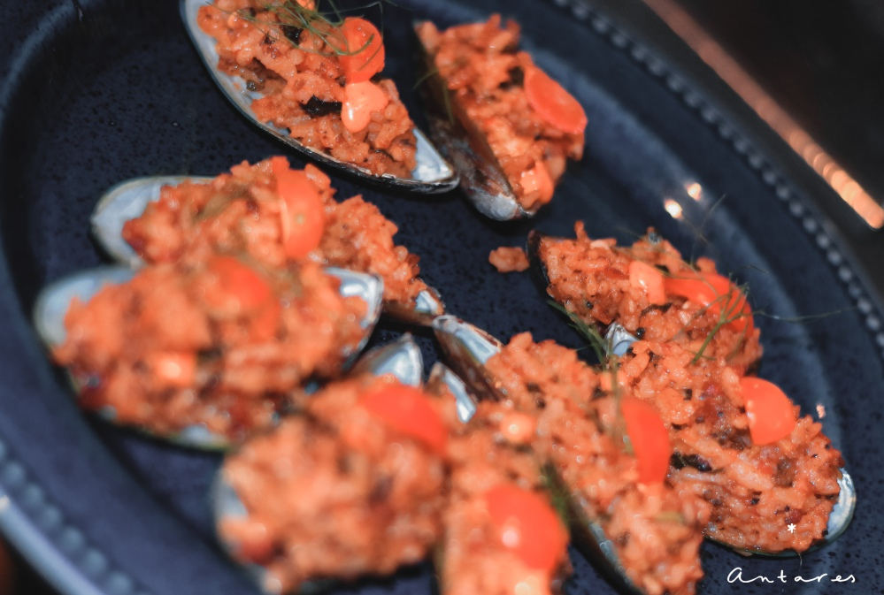 Chorizo Mussel Paella
