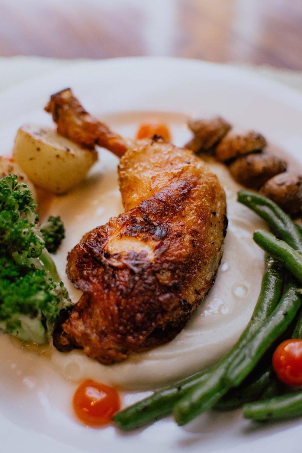 Confit Chicken
