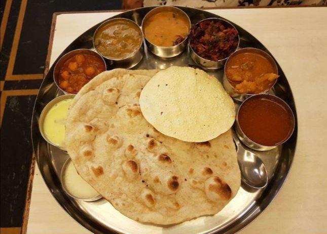 Navtara Veg Thali