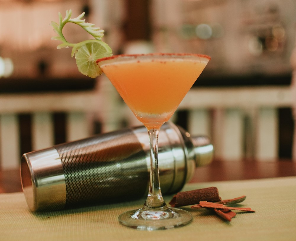 Orange Cinnamon Martini